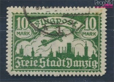 Gdansk 117 proofed used 1923 Airmail (8209775