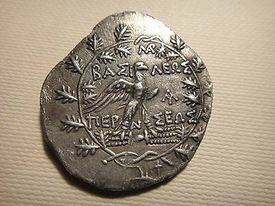 Kingdom of Macedon,Perseus (179-168 BC),Silver Tetradrachm 14.67gr/30mm  KB301