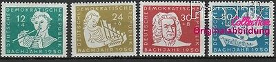 DDR 256-259 unmounted mint / never hinged 1950 200.Death of Bach (8844149