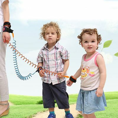 Kids Anti-Lost Wrist Link Band Children Braclete Harness Safety Leash Strap Hot