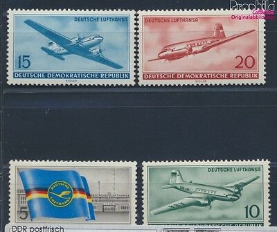 DDR 512-515 MNH 1956 Opening of civilian Aviation (8830731