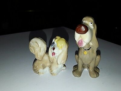 WADE DISNEY TRUSTY and Peg from Lady and the Tramp