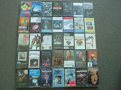 35 Rare Assorted Soundtrack Cassette Tapes! Bad Boys Reality Bites Maverick