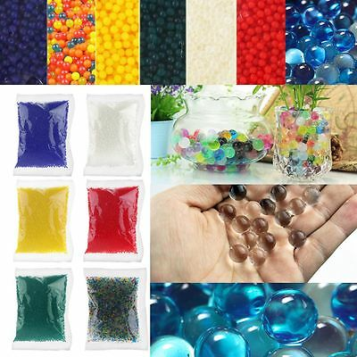 10000Pcs/Pack Water Plant Flower Jelly Crystal Soil Mud Pearl Gel Bead Balls