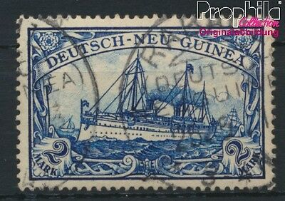 German-Guinea 17 used 1901 Ship Imperial Yacht Hohenzollern (8984006