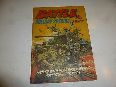 BATTLE Comic - Holiday Special - Date 1982 - UK Paper Comic
