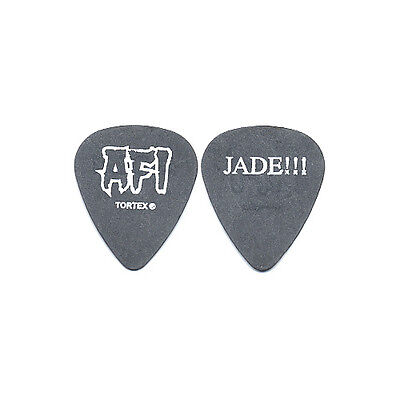A Fire Inside Jade Puget authentic 2003 tour issued AFI custom stage Guitar Pick