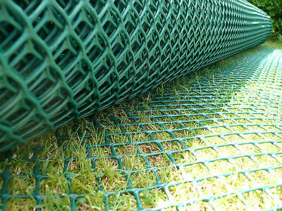 2x30m Grass Reinforcement Mesh Driveway Car Park Ground Protector + 150 Pin