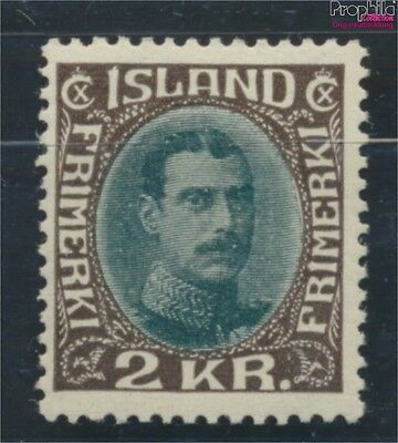 Iceland 166 with hinge 1931 Christian (6806665