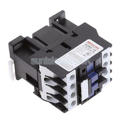 220V Coil CJX2-1210 660V 3 Phase 3P NO AC Contactor DIN Rail Mount