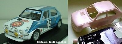 Fiat Ritmo Abarth Resin Bodyshell Carroceria De Resina  Slot Car 1/32 A2M