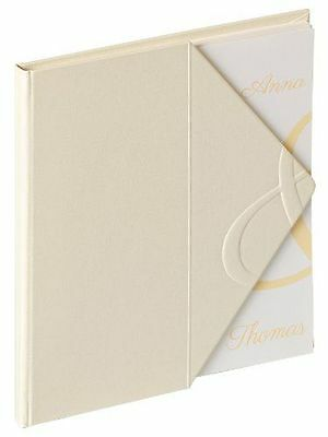 Walther Design - Walther livre d'or Carta [GB-138] [Crème] [23 x 25 cm] NEUF