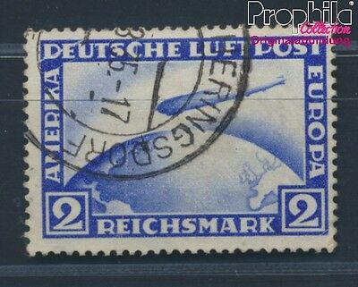 German Empire 423Y fine used / cancelled 1928 Count Zeppelin (8584541