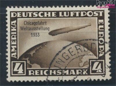 German Empire 498 used 1933 Count Zeppelin (7054663