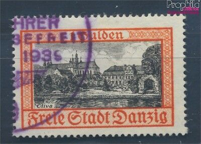 Gdansk 297 proofed fine used / cancelled 1938 clear brands (7895814