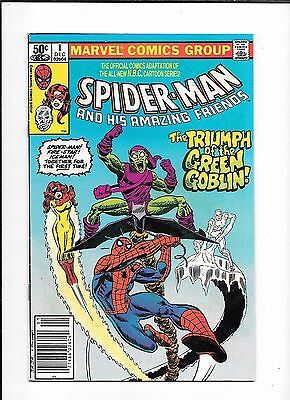 Spider-Man And His Amazing Friends #1 ==> Fn 1St Appearance Firestar Marvel 1981