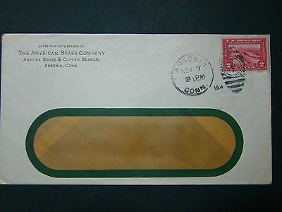 Us Advertising Cover -The American Brass Co. -Ansonia Conn