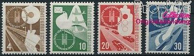 FR of Germany 167-170 MNH 1953 Transport Exhibition (8940713