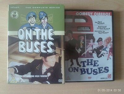 ON THE BUSES The Complete Series + 3 Film Set      New        Fast  Post