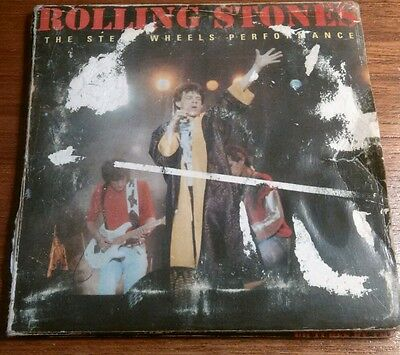 Rolling Stones The Steel Wheel Performance 2 Cd Pack Collectible