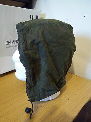 Barbour A128 Waxed Hood Size L Beaufort Bedale Border Gamefair