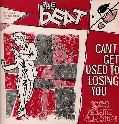 "The Beat(12"" Vinyl)Can't Get Used To Losing You-Go Feet-FEET 1217-UK-19-VG/Ex"