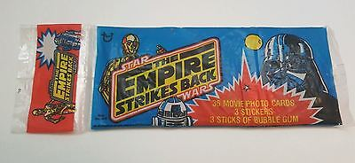 Star Wars The Empire Strikes Back Series 1 Three Rack Pack Sealed Nip *scarce*