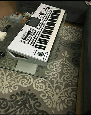 +++ NO KEYBOARD!!! Weisse Folie Bant für Korg Pa4x Pax4 White Sticker +++