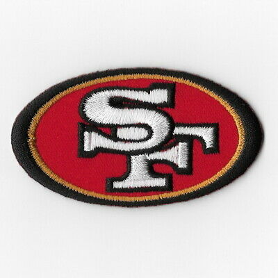 San Francisco 49ers Iron on Patches Embroidered Badge Patch Applique Emblem FN