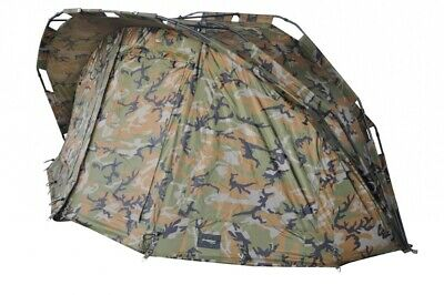 MK Angelsport Fort Knox Ghost Pro Dome 2 Mann Angelzelt Karpfenzelt Bivvy Zelt