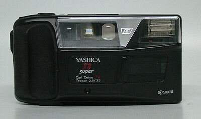 Yashica T3 Super 35mm Compact Film Camera