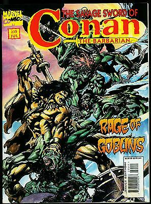 The Savage Sword of Conan #235 1995- Rare FINAL ISSUE- Marvel Magazine VG-