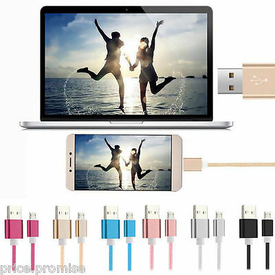 100 x Joblot USB Data Charger Cable Micro USB Cable for iPhone Samsung Sony HTC