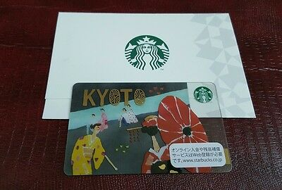 Japan Geography Series KYOTO Starbucks City card