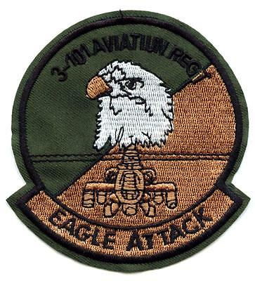 Aufnäher Eagle Attack US Army Patch 101st Aviation Regiment Special Forces