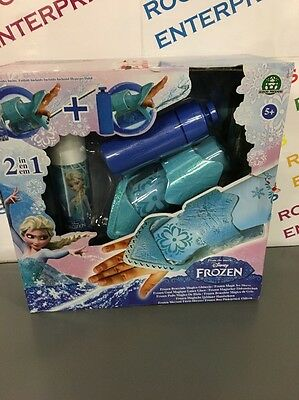 Disney Frozen Elsa's 2 In 1 Magic Ice Sleeve NEW Box Poor/torn