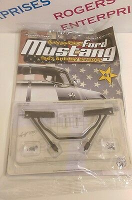 Deagostini Build your own Ford Mustang 1967 Shelby GT-500 Mag/Parts - ISSUE 41