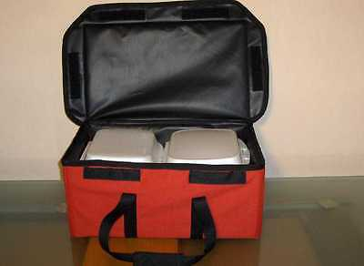 12V Warm Bag 4 Lunch-Box 44x25x18 cm Tasche Catering Box Hot Food Thermotasche