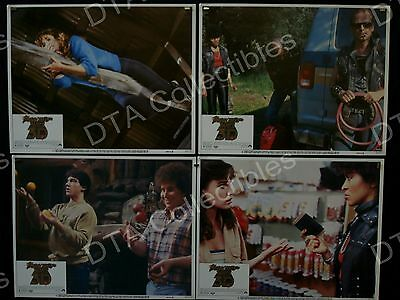 Friday The 13Th  Part Iii 3-D*lobby Card Set Of 8-Rare Fn/vf