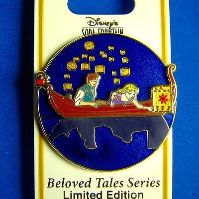Tangled Beloved Tales DSF Disney Pin Surprise Release LE 300 OC RARE Rapunzel