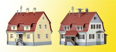 36782 Kibri Z Gauge Kit of Settlement houses from the 1920`s, 2 pieces - NEW