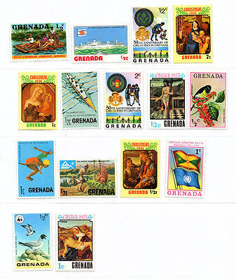 Timbre Collection Edition Atlas Au Choix : Amerique Grenade Grenada