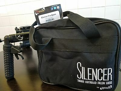 Follow Focus 24 Shots Silencer Pro Zoom w/ FREE shoulder rig!!!!!