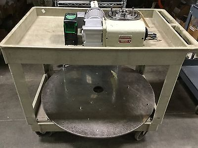 Sandex 11AD-02338R-SR3VW1 Positional Rotary Indexer With Drive/Table, 230/460VAC