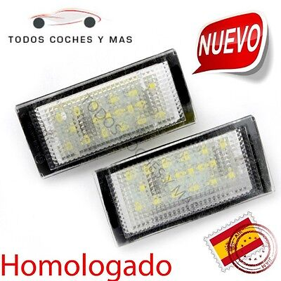 Luz Led Matricula Bmw E46 2Dr 98-03 Homologado E11 Plafones Led Luces Matricula