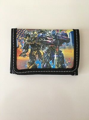 New Cartoon Character Transformers Kids Boys Girls Purse Coin Wallet Toys Gifts