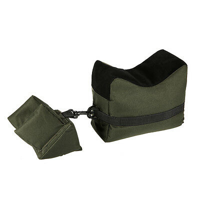 Tactical Hunting Rifle/Air Gun Front Rear Shooting Bench Bag Army Green Hot Sale