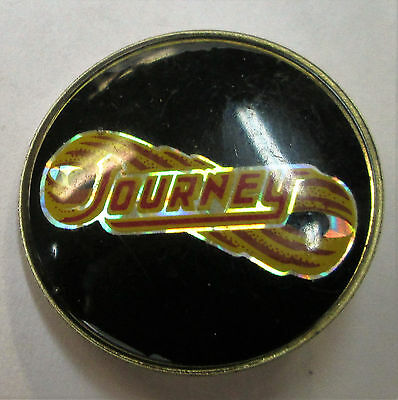 Journey Vintage Metal Lapel Pin From Late 80's Heavy Metal Wow