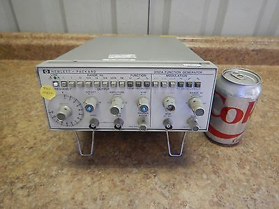 Hewlett Packard HP 3312A Function Generator .1 - 1M Hz