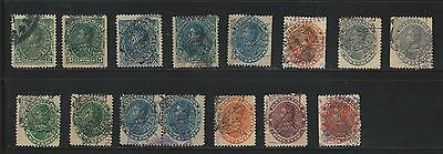 Venezuela: Lot of Small lot of 15 different stamps, overprint displaced, VE836